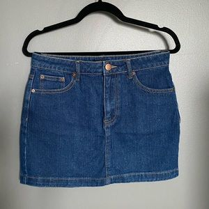 NWOT Forever 21 Denim Mini Skirt